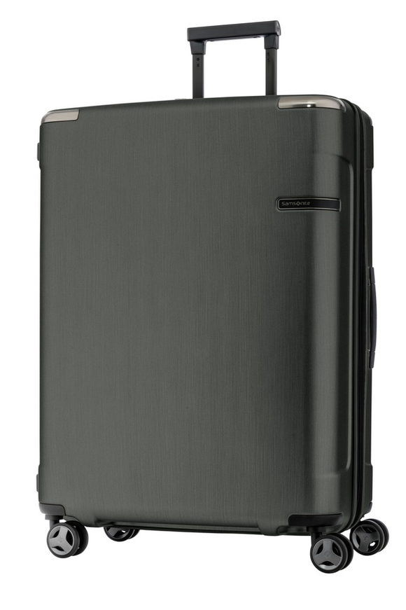 SAMSONITE EVOA 75CM SPINNER BRUSHED BLACK
