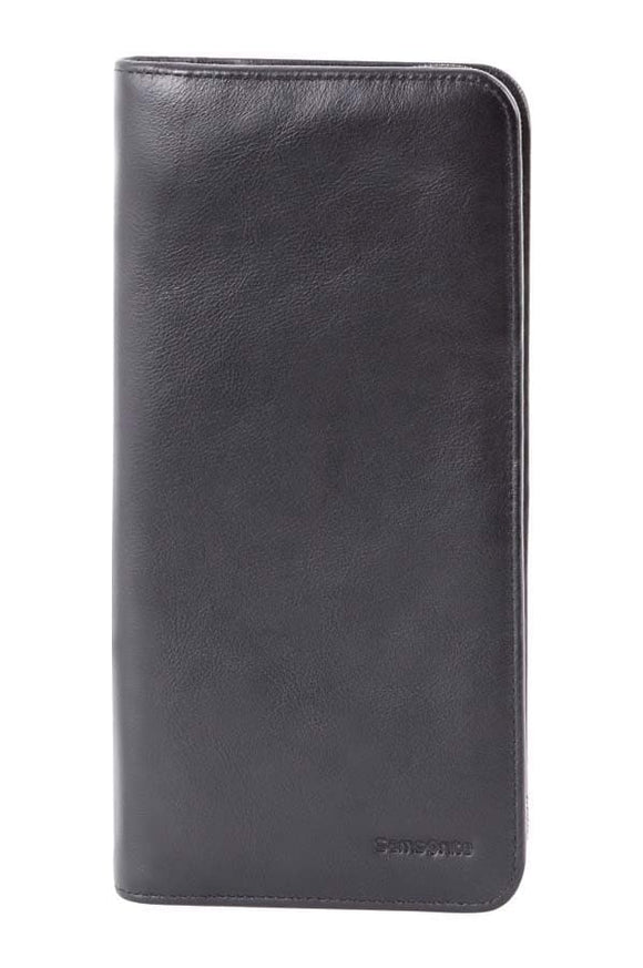 Samsonite RFID Executive Travel Wallet Leather Black