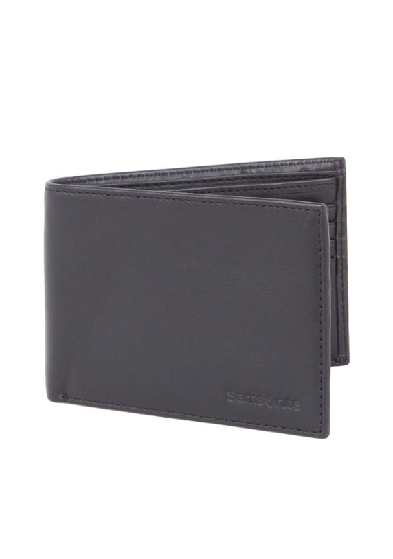 Samsonite RFID Blocking Wallet with Credit Card Flap Black
