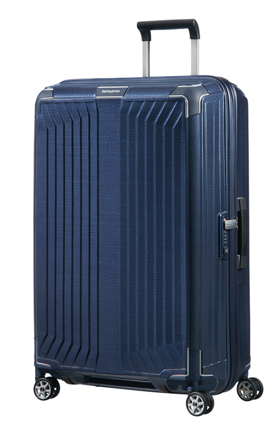 SAMSONITE LITE BOX 75CM SPINNER DEEP BLUE