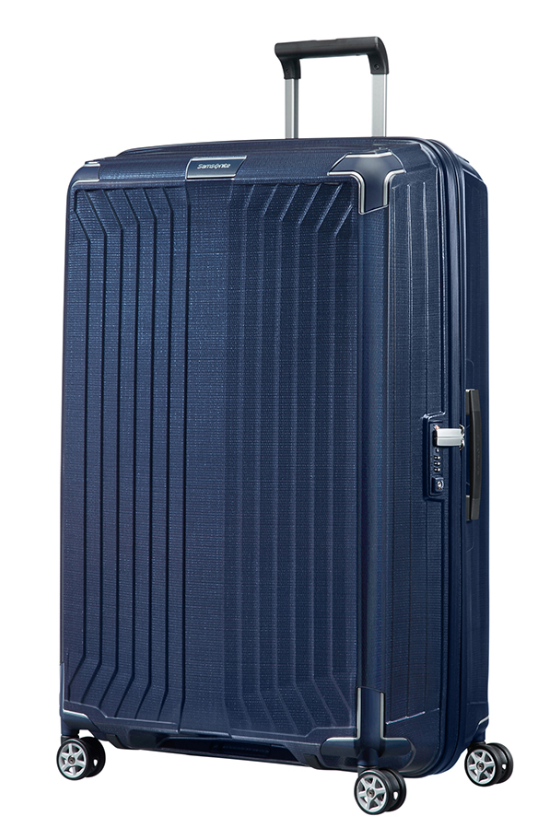 SAMSONITE LITE BOX 81CM SPINNER DEEP BLUE