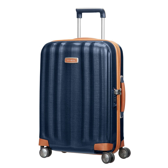 Samsonite Lite-Cube DLX 55cm Spinner Midnight Blue