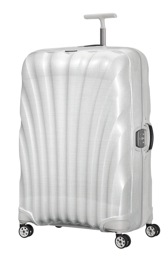SAMSONITE LITE LOCKED 81CM SPINNER OFF WHITE