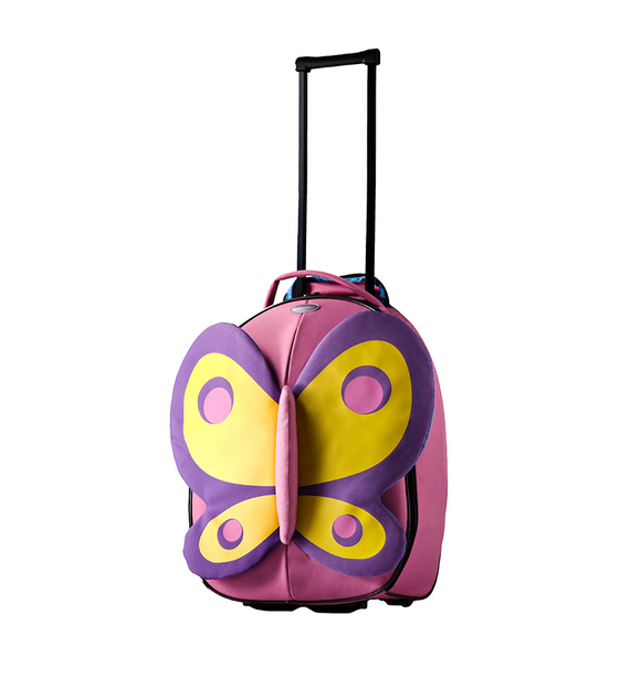 Samsonite Sammies Dreams Butterfly 50cm Upright Spinner Pink