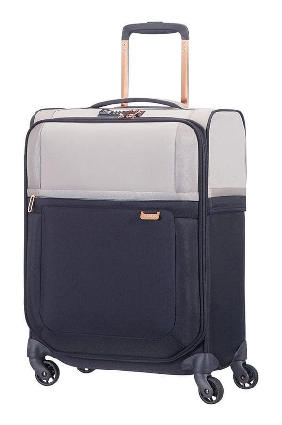 Samsonite Uplite 55cm Spinner Pearl/Blue