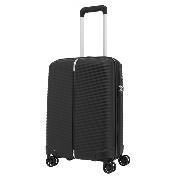 SAMSONITE VARRO 55CM SPINNER EXP BLACK