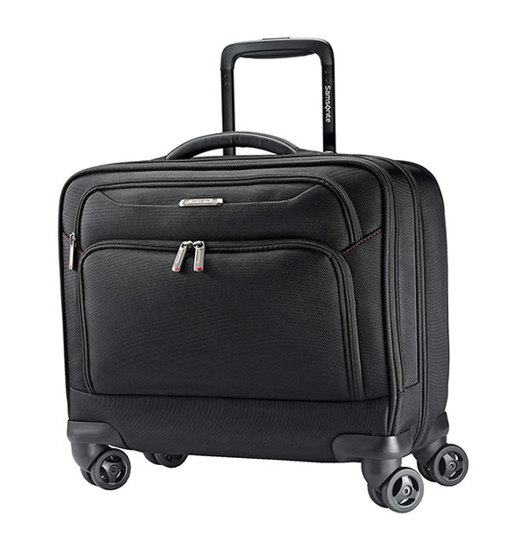 SAMSONITE XENON SPINNER MOBILE OFFICE BLACK