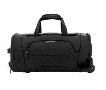Samsonite Albi 55cm Duffle on Wheels Black/Grey