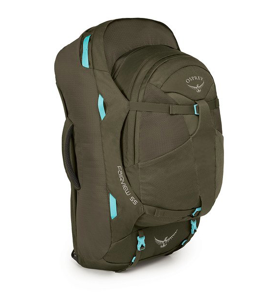 OSPREY FAIRVIEW 55 XS S MISTY GREY