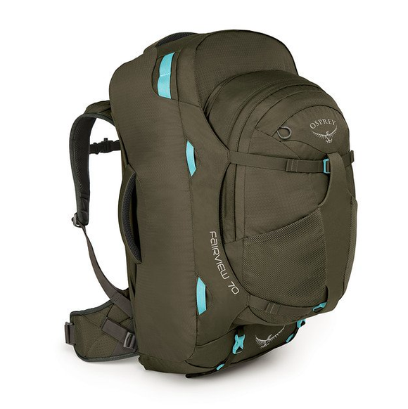 OSPREY FAIRVIEW 70 XS S MISTY GREY