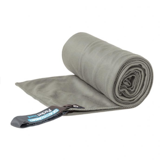 Sea to Summit Micro Fibre Pocket Towel Extra-Large Grey