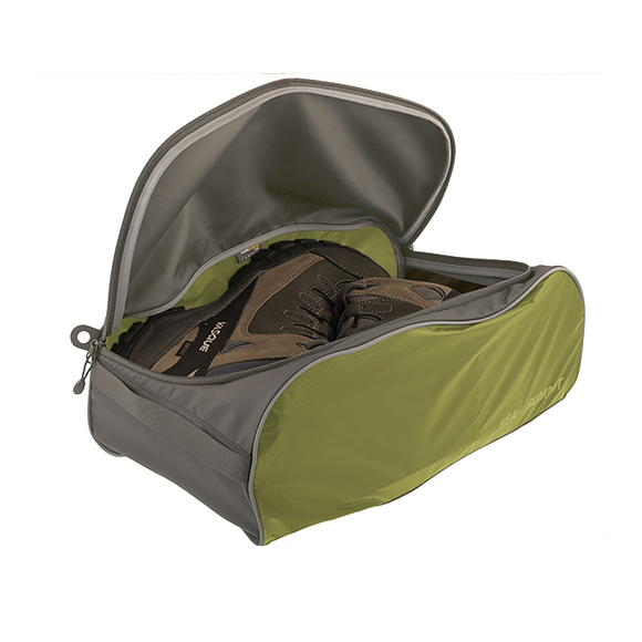Sea to Summit Travelling Light Shoe Bag Large Lime