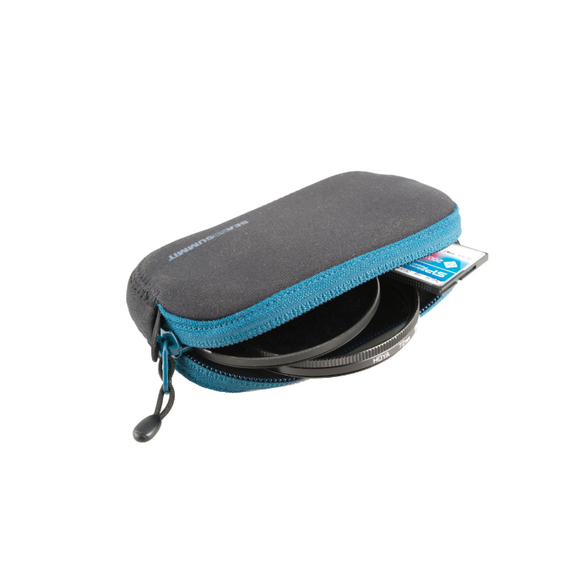 SEA TO SUMMIT PADDED POUCH SMALL BLUE BLACK