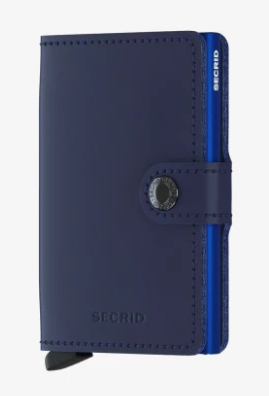 SECRID MINIWALLET NAVY BLUE
