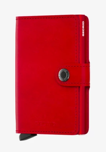 SECRID MINIWALLET RED RED