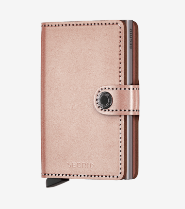 SECRID MINIWALLET ROSE METALLIC