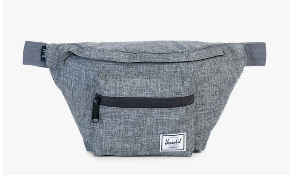 Herschel Seventeen Hip Pack Raven Crosshatch