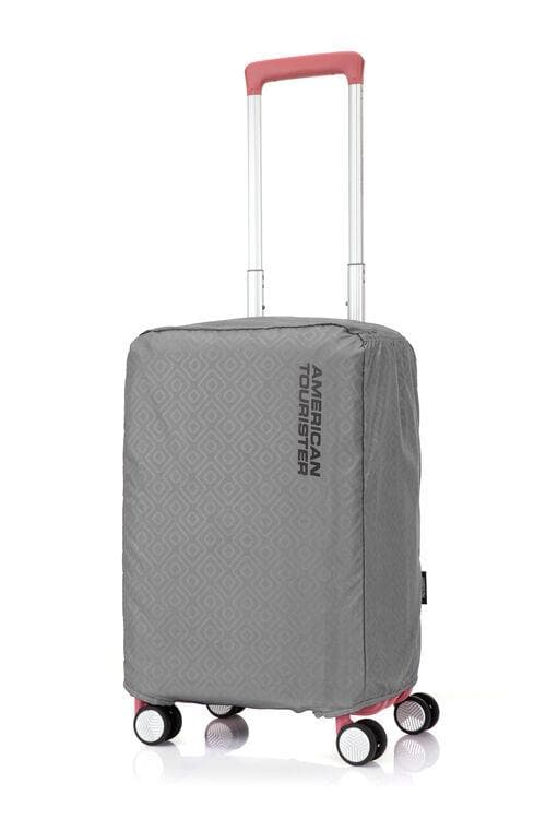 AMERICAN TOURISTER ANTIMICROBIAL LUGGAGE COVER SMALL GREY