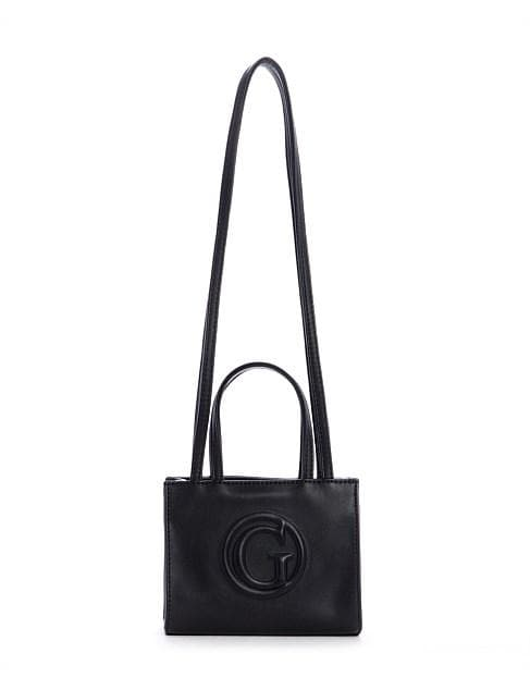 GUESS G-TOTE MINI TOTE BLACK