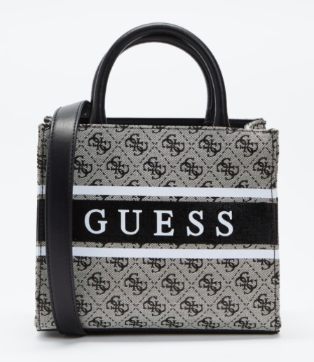 GUESS MONIQUE TOTE SMALL COAL