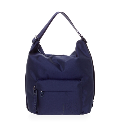 MANDARINA DUCK MD20 TRACOLLA SHOULDER BAG DRESS BLUE