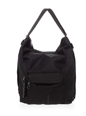 MANDARINA DUCK MD20 TRACOLLA SHOULDER BAG BLACK