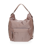 MANDARINA DUCK MD20 TRACOLLA SHOULDER BAG TAUPE