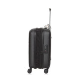 MANDARINA DUCK LOGODUCK PLUS TROLLEY CABIN EXPANDABLE BLACK