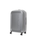 MANDARINA DUCK LOGODUCK PLUS TROLLEY MEDIUM EXPANDABLE SILVER