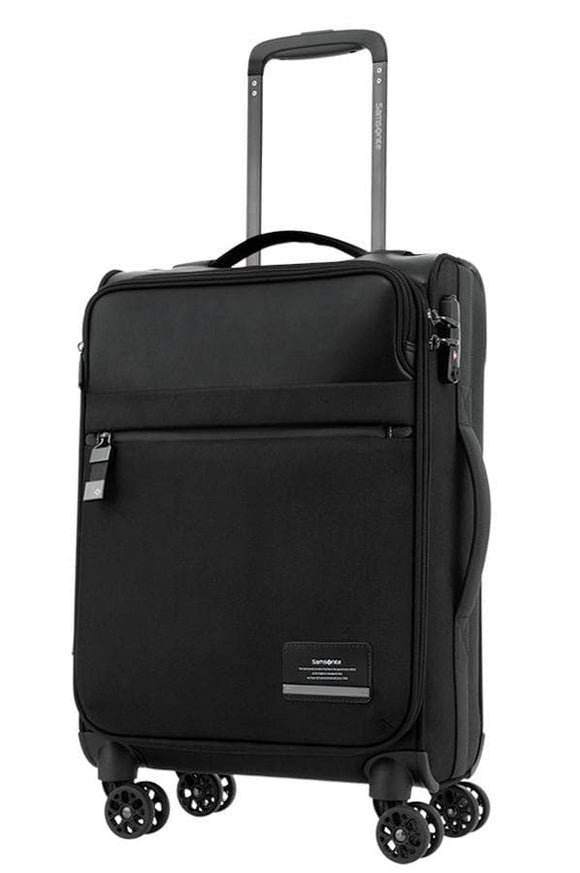SAMSONITE VESTOR MOBILE OFFICE 55CM SPINNER BLACK