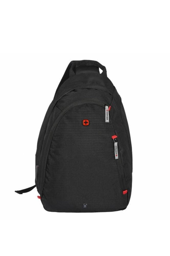 WENGER COMPASS ESSENTIAL LARGE SLING BAG BLACK