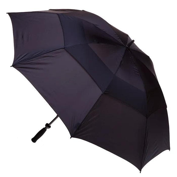 CLIFTON WINDPRO VENTED GOLF DOUBLE CANOPY UMBRELLA BLACK