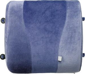 GO TRAVEL MEMORY FOAM LUMBAR SUPPORT BLUE