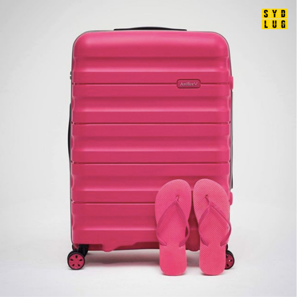 ANTLER JUNO 2 4W MEDIUM ROLLER CASE PINK