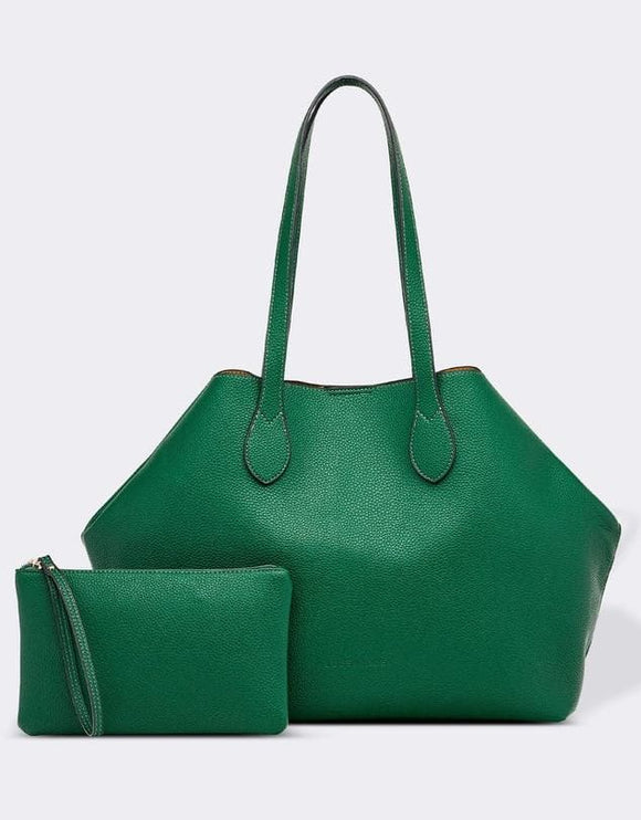 LOUENHIDE BICKLE TOTE BAG GREEN
