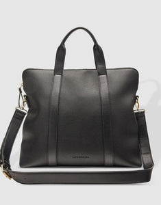LOUENHIDE RHODES LAPTOP BAG BLACK