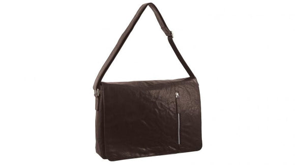 PIERRE CARDIN COMPUTER BAG BROWN