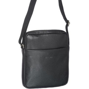 PIERRE CARDIN UNISEX CROSSBODY BAG BLACK