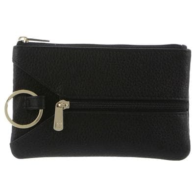 PIERRE CARDIN KEY COIN PURSE BLACK