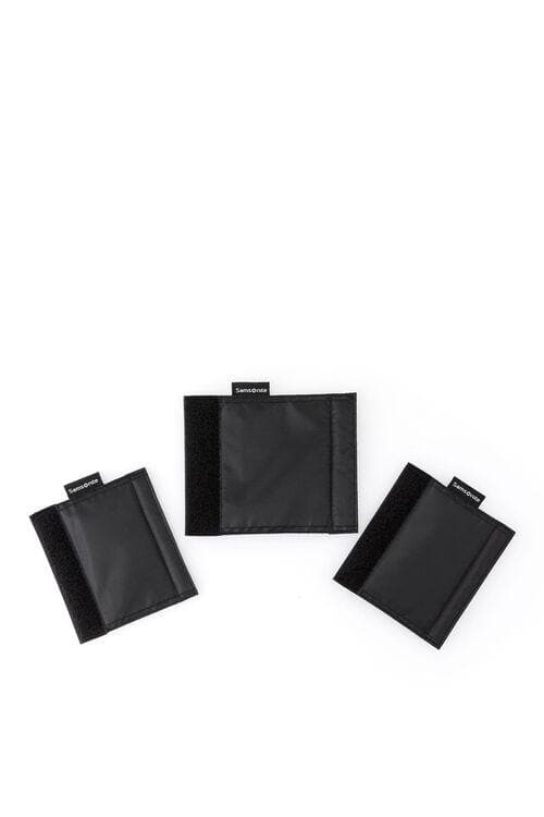 SAMSONITE TRAVEL ESSENTIAL LUGGAGE HANDLE WRAP SET OF 3 BLACK