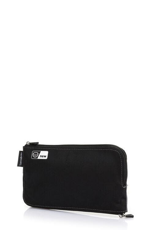 SAMSONITE MASK POUCH ZIPPER BLACK/GREY