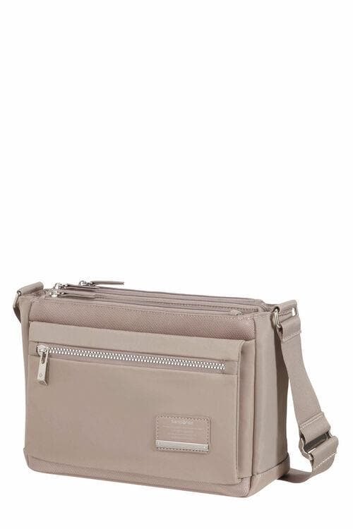 SAMSONITE OPENROAD CHIC HORIZONTAL SHOULDER BAG ROSE