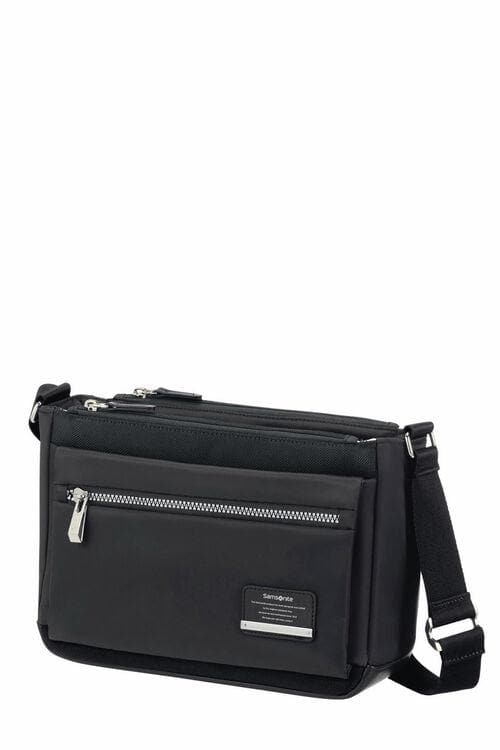 SAMSONITE OPENROAD CHIC HORIZONTAL SHOULDER BAG BLACK