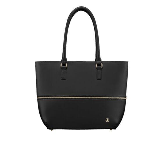 WENGER EVA 13 INCH WOMENS TOTE WITH REMOVABLE LAPTOP SLEEVE BLACK