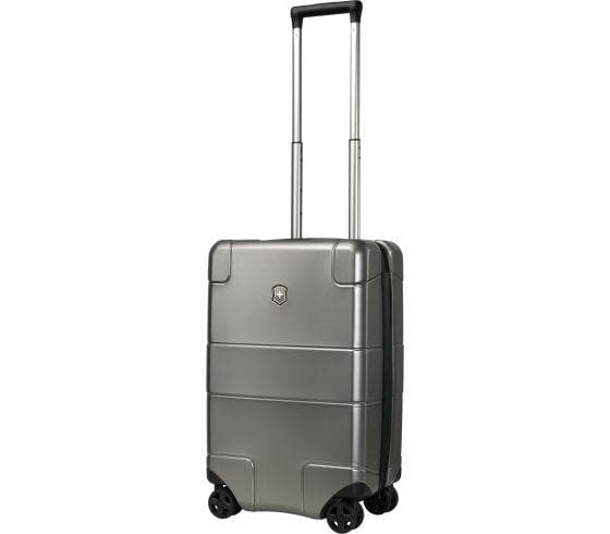 Victorinox Lexicon Hardside Frequent Flyer Carry On 4 Wheel Upright Spinner Titanium 602102