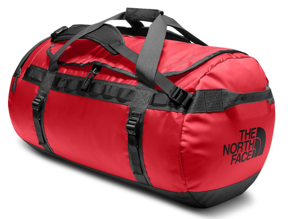THE NORTH FACE BASE CAMP DUFFLE L RED BLACK