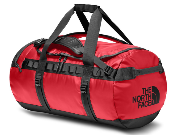THE NORTH FACE BASE CAMP DUFFLE M RED BLACK