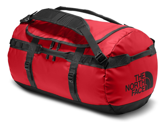 THE NORTH FACE BASE CAMP DUFFLE S RED BLACK