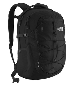 THE NORTH FACE BOREALIS BACKPACK BLACK