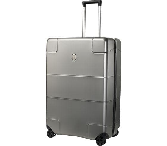 Victorinox Lexicon Hardside Large 4 Wheel Upright Spinner Titanium 602108